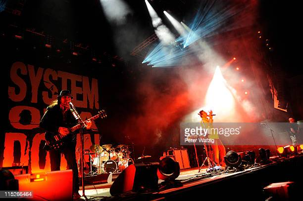 System Of A Down headlining at the third day of Rock Am Ring on June 05 2011 in Nuerburg Germany