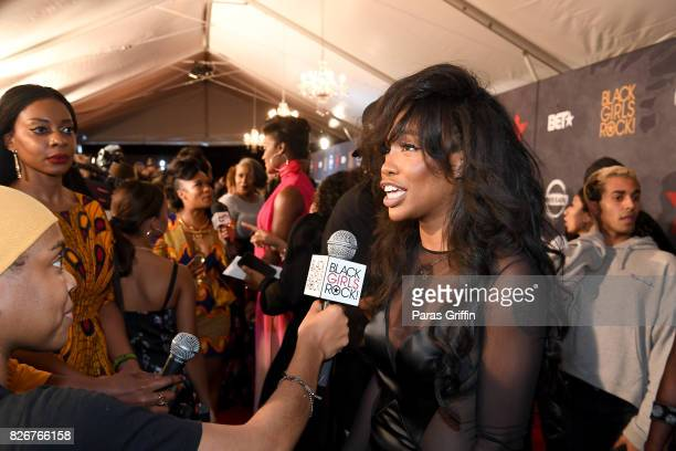 Sza attends Black Girls Rock 2017 at NJPAC on August 5 2017 in Newark New Jersey