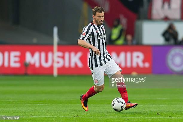 Szabolcs Huszti of Eintracht Frankfurt in action during the Bundesliga match between Eintracht Frankfurt and Borussia Dortmund at Commerzbank Arena...