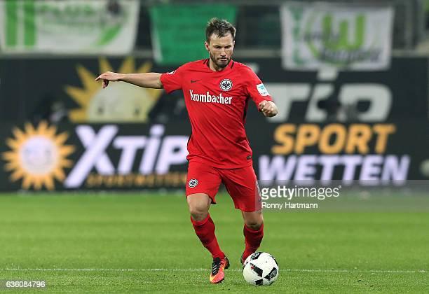 Szabolcs Huszti of Frankfurt controls the ball during the Bundesliga match between VfL Wolfsburg and Eintracht Frankfurt at Volkswagen Arena on...