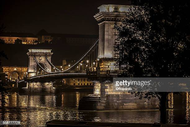 Széchenyi Chain bridge of budapest
