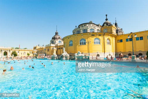 Szechenyi Thermal Baths, Budapest, Hungary