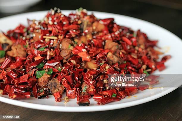 Szechuan deep fried chicken