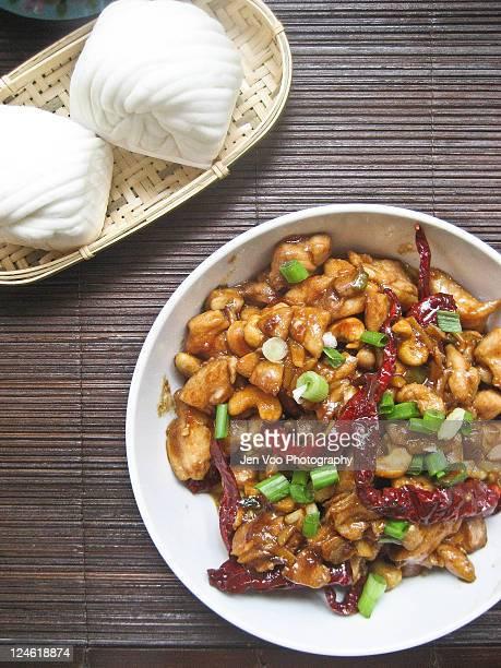 Szechuan kung pao chicken