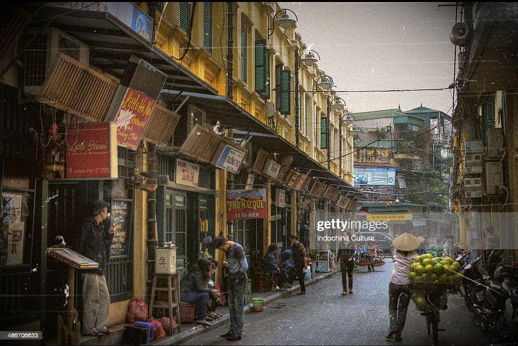 Ta Hien Street - Ha Noi