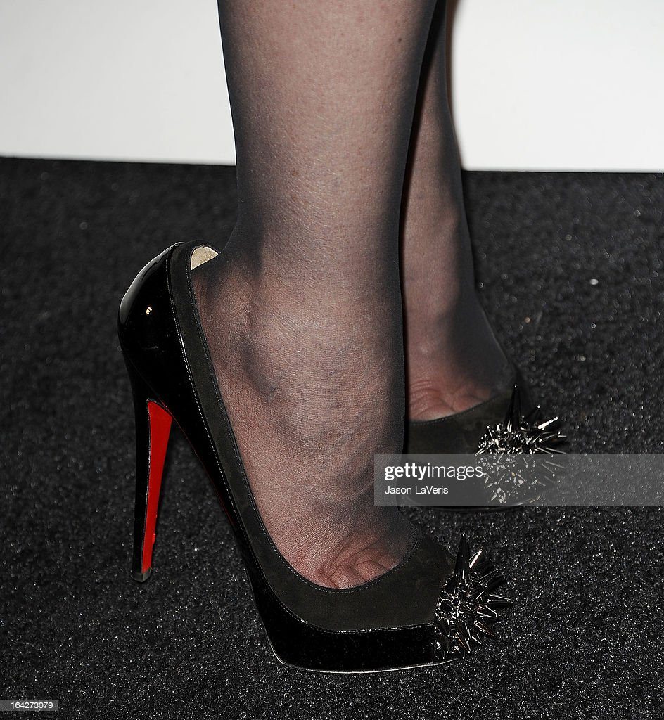 Tabatha Coffey (shoe detail) attends 'An Evening' benefiting The L.A. Gay & Lesbian Center at the Beverly Wilshire Four Seasons Hotel on March 21, 2013 in Beverly Hills, California.