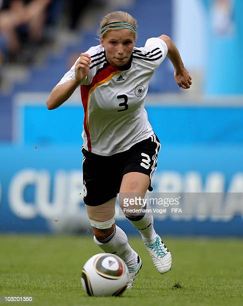 Tabea Kemme of Germany runs with the ball during the FIFA U20 Women's World Cup Final match between Germany and Nigeria at the FIFA U20 Women's World...