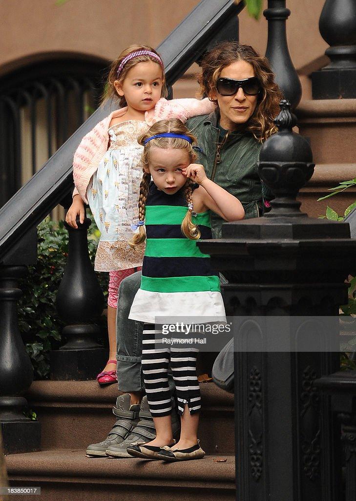 Celebrity Sightings In New York City - October 9, 2013