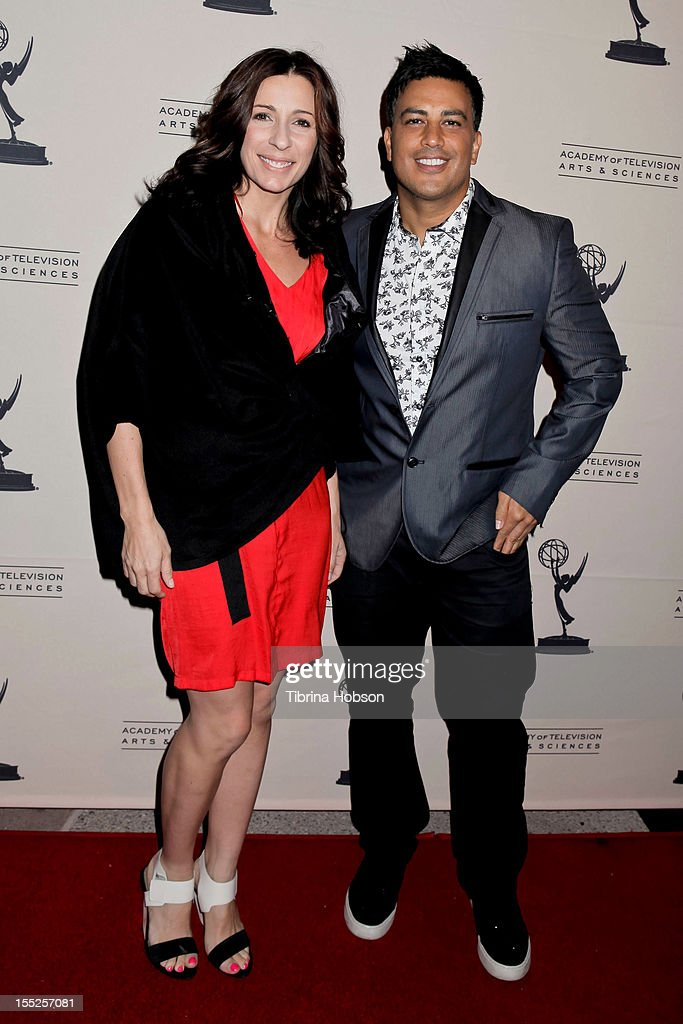 Tabitha D'Umo and Napoleon D'Umo attend the Academy of Television Arts & Sciences' 'The Choreographers: Yesterday, Today & Tomorrow' event at Leonard H. Goldenson Theatre on November 1, 2012 in North Hollywood, California.