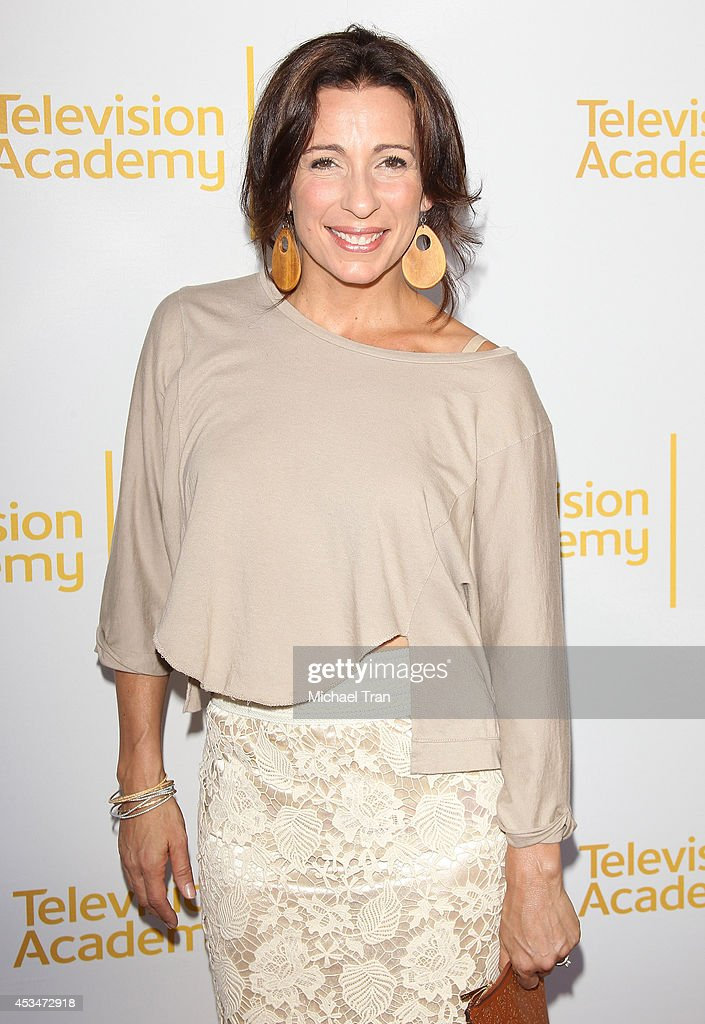 Tabitha D'umo arrives at Television Academy's Directors Peer Group choreographers celebration held at Leonard H. Goldenson Theatre on August 10, 2014 in North Hollywood, California.