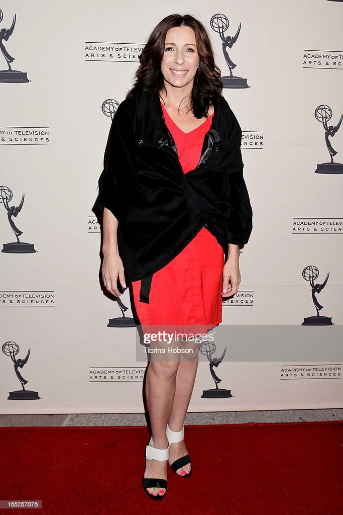 Tabitha D'Umo attends the Academy of Television Arts & Sciences' 'The Choreographers: Yesterday, Today & Tomorrow' event at Leonard H. Goldenson Theatre on November 1, 2012 in North Hollywood, California.