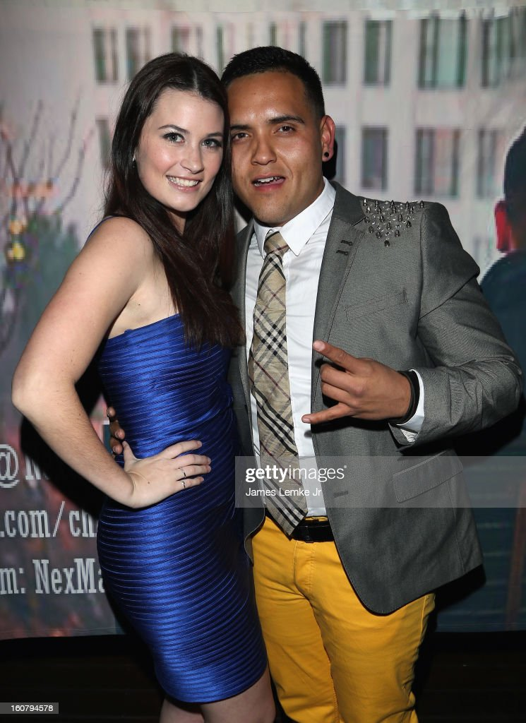Tabitha Ellis and Chris Rockstar attend Chris Rockstar's 'I Guess I'm Trying To Say' Music Video Release Party held at the W Hollywood on February 5, 2013 in Hollywood, California.