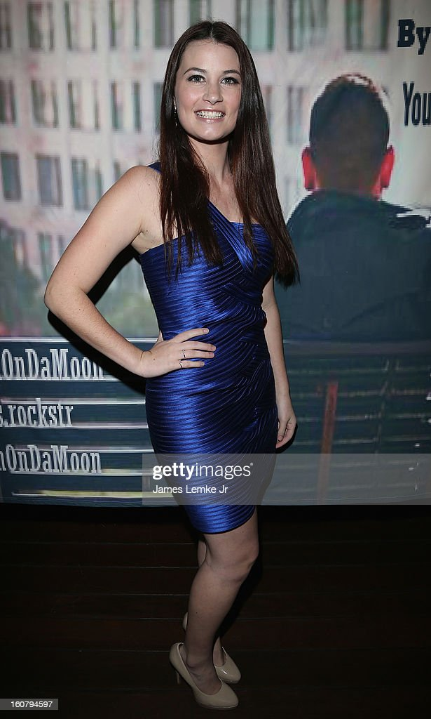 Tabitha Ellis attends Chris Rockstar's 'I Guess I'm Trying To Say' Music Video Release Party held at the W Hollywood on February 5, 2013 in Hollywood, California.
