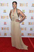 Tabitha Holbert attends the 'Roots' night one screening at Alice Tully Hall Lincoln Center on May 23 2016 in New York City