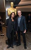 Tabitha Jackson and Rob Epstein arrive at the 87th Annual Academy Awards Oscar Week Celebrates Documentaries at Samuel Goldwyn Theater on February 18...