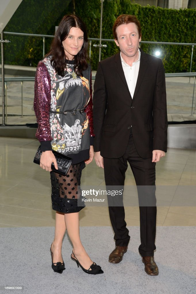 Tabitha Simmons (L) and Craig McDean attend 2013 CFDA Fashion Awards at Alice Tully Hall on June 3, 2013 in New York City.