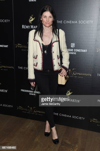Tabitha Simmons attends a screening of 'Pirates Of The Caribbean Dead Men Tell No Tales' hosted by The Cinema Society at Crosby Street Hotel on May...