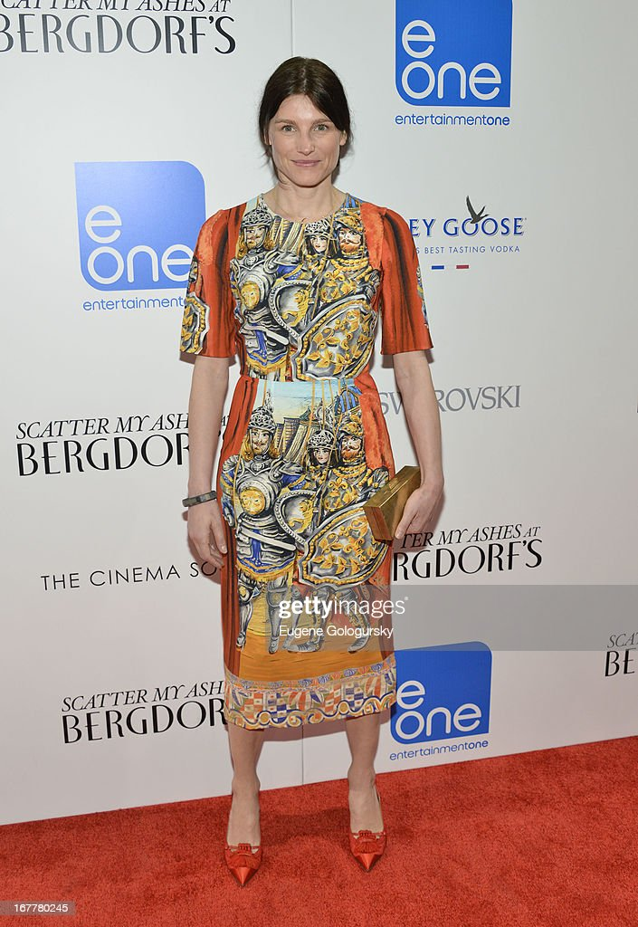 Tabitha Simmons attends the Cinema Society with Swarovski & Grey Goose premiere of eOne Entertainment's 'Scatter My Ashes at Bergdorf's' at Florence Gould Hall on April 29, 2013 in New York City.