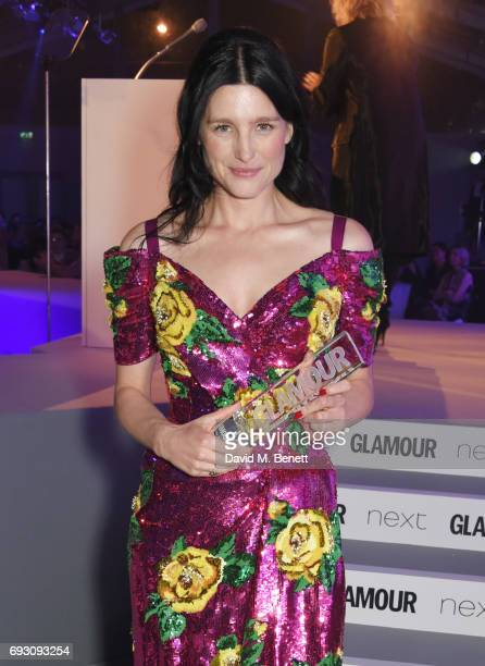 Tabitha Simmons winner of the Accessories Designer award attends the Glamour Women of The Year Awards 2017 in Berkeley Square Gardens on June 6 2017...