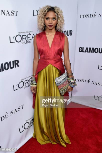 Tabitha St Bernard attends Glamour's 2017 Women of The Year Awards at Kings Theatre on November 13 2017 in Brooklyn New York