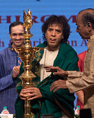 IND: Tabla Maestro Ustad Zakir Hussain Felicitated With The Shri Shanmukhananda National Eminence Award