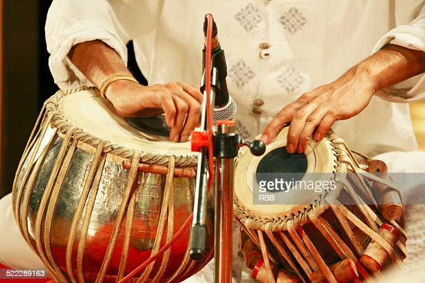 Tabla playing hands