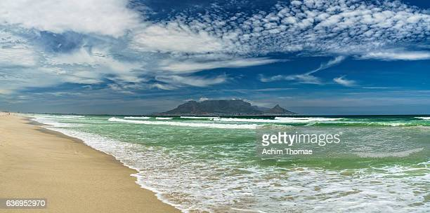 Table Bay Panorama, Bloubergstrand, Cape Town, South Africa