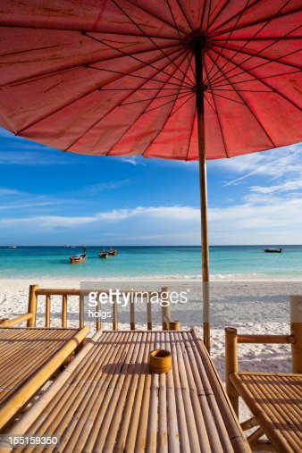 Table by the Beach in Thailand