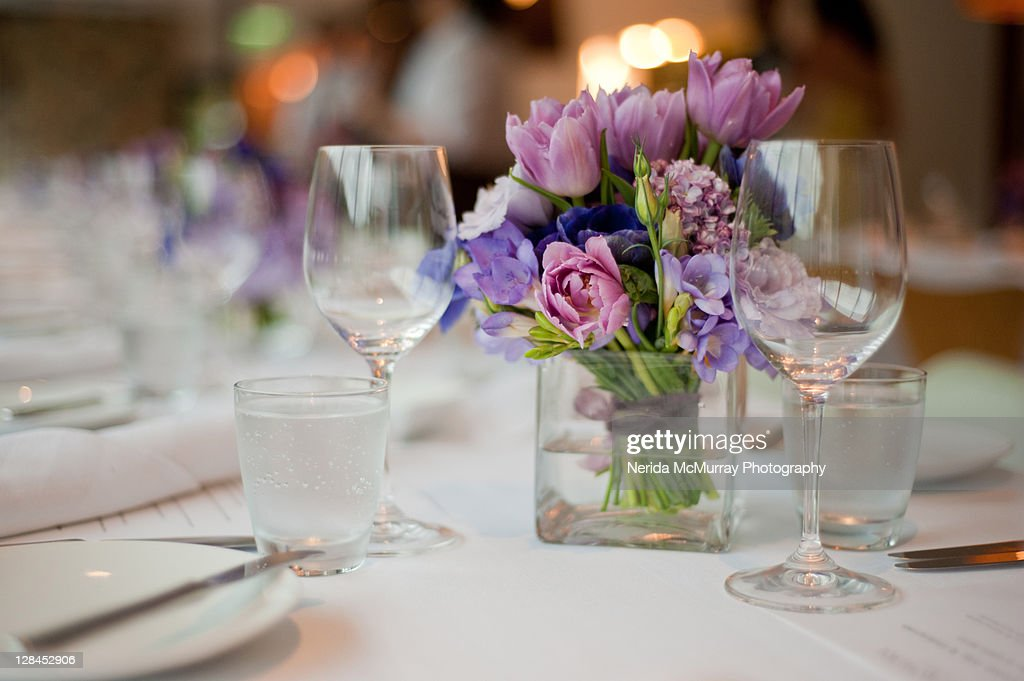 Table Decorations Centrepiece Wedding Stock Photo Getty