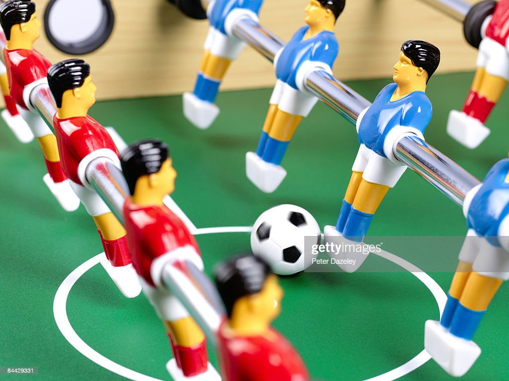Table football game : Stock Photo