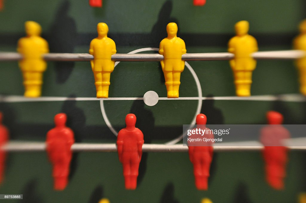 Table football players : Stock Photo