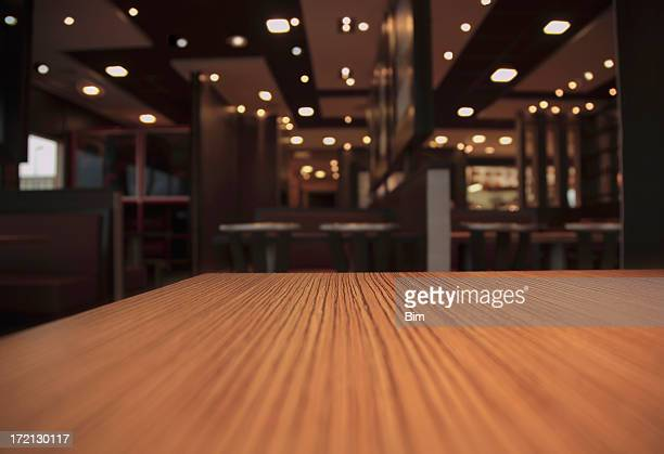 Table in a Restaurant