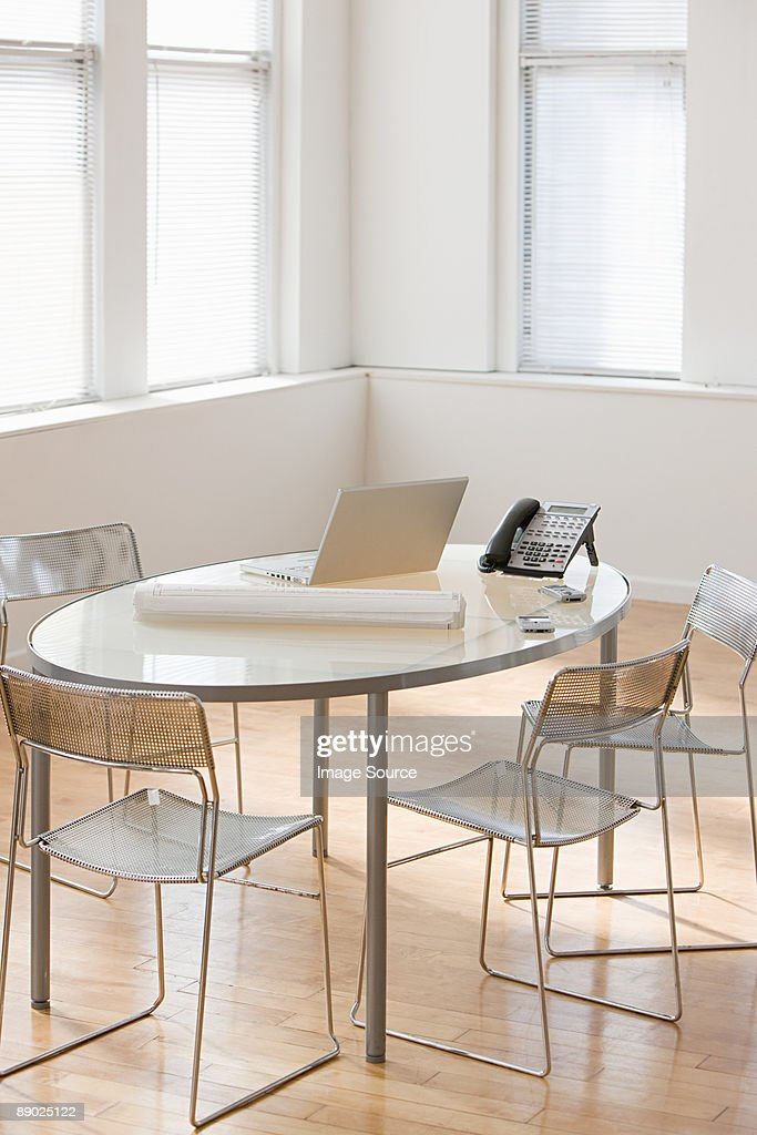 Table in an office : Stock Photo