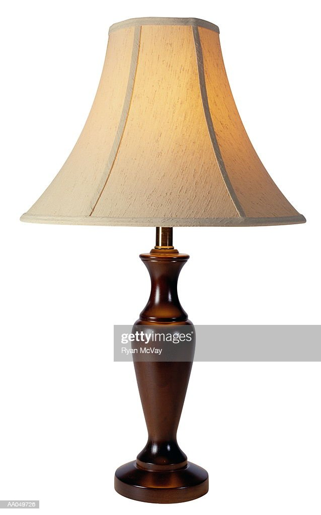 Table Lamp with Lamp Shade : Stock Photo
