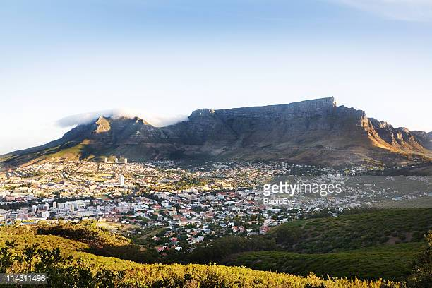 Table Mountain Of Table Mountain South Africa Stock Photos And Pictures