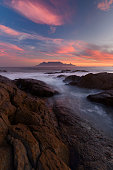 Sunset from Blouberg beach