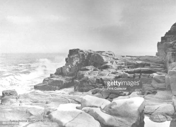 Table Rocks Whitley Bay 1907 Image printed with Ullmans inks From The British Printer Vol XX [Raithby Lawrence Co Ltd London and Leicester 1907]...