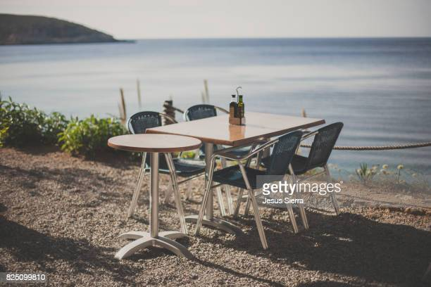 Table Set For Lunch in Ibiza