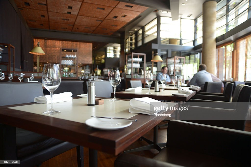 Table settings are laid out at Rockpool Bar and Grill restaurant in Melbourne, Australia, on Wednesday, Nov. 28, 2012. The Australian Bureau of Statistics is expected to release November inflation data on Dec. 3. Photographer: Carla Gottgens/Bloomberg via Getty Images