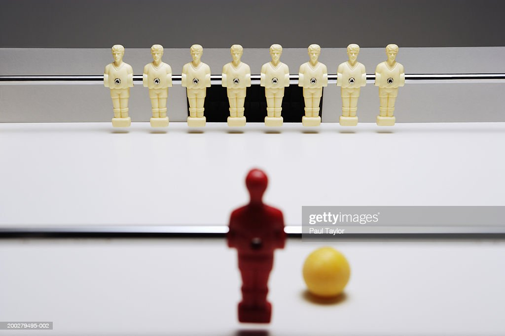 Table soccer figures : Stock Photo