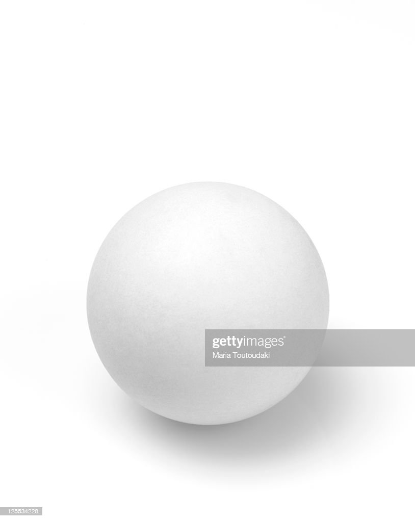Table tennis ball : Stock Photo