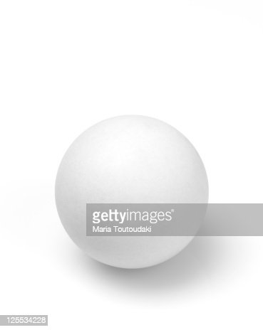 Table tennis ball : Stock-Foto
