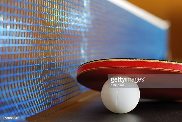 Table Tennis Close Up