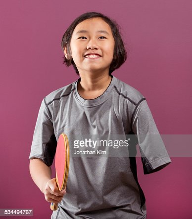 Table tennis girl