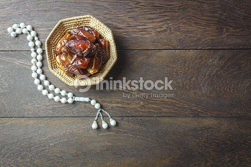 Tableau vue de dessus image aérienne de décoration fond fête ramadan