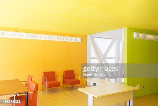 sun shining through windows in bright office bright office