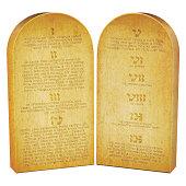 Les dix commandements photos et illustrations images libres de droits thinkstock france - Les tables des 10 commandements ...