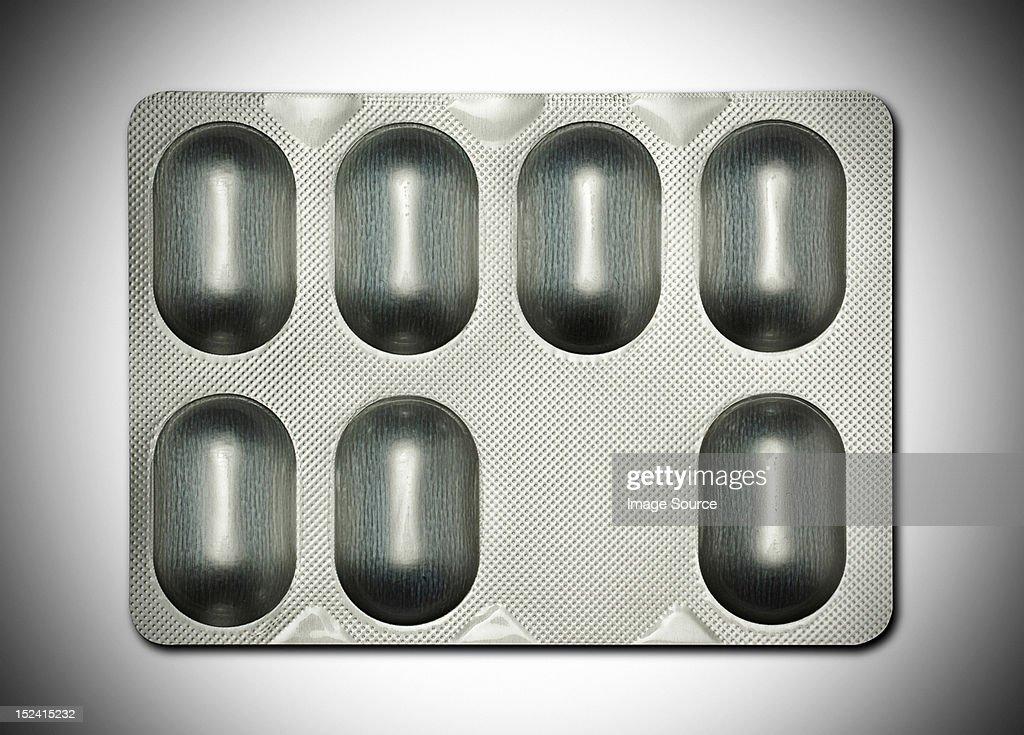 Tablet blister pack : Stock Photo