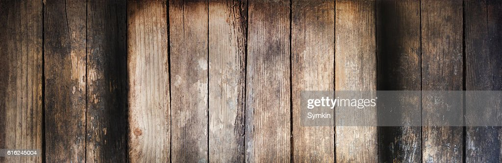 Tablet for text. Wooden texture. : Stock Photo