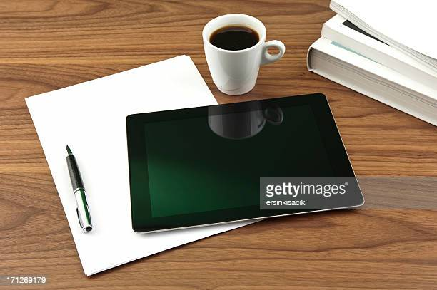 Tablet PC and Coffee Break